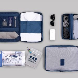 mens travel pouch set